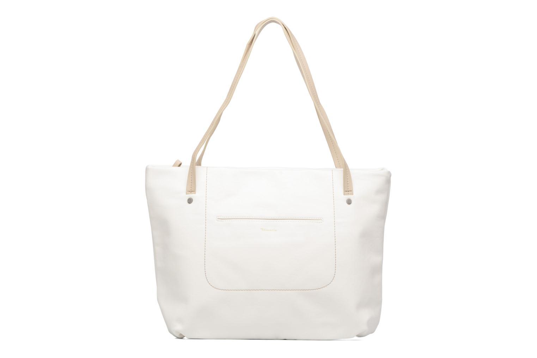 Pauline Shopping Bag White comb