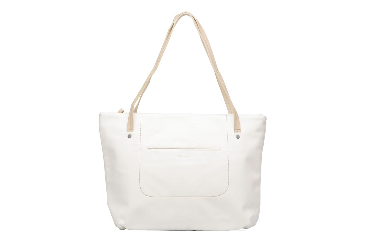 Pauline Shopping Bag White comb