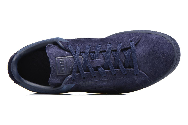 Baskets Puma Suede Classic Casual Bleu vue gauche