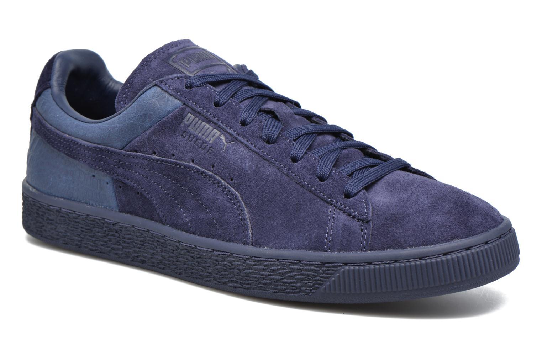 Baskets Puma Suede Classic Casual Bleu vue détail/paire