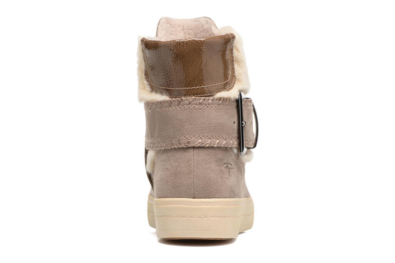 Bottines et boots Tamaris Louise Marron vue droite