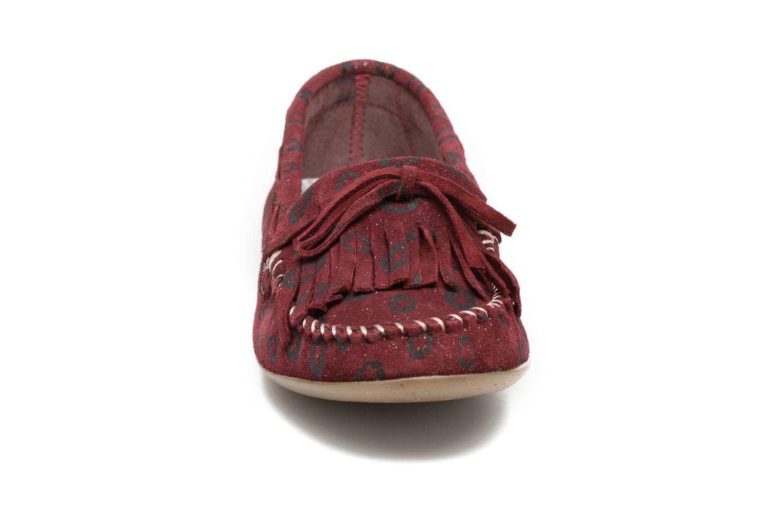 Mocassins Ippon Vintage Moc Kiss Bordeaux vue portées chaussures