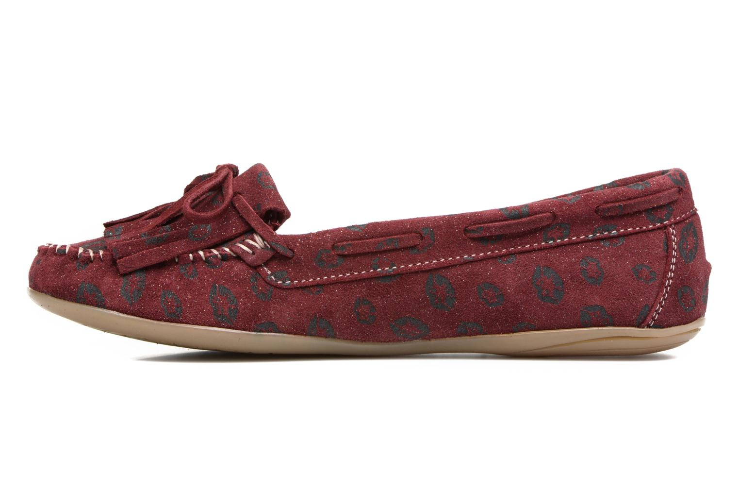 Loafers Ippon Vintage Moc Kiss Burgundy front view