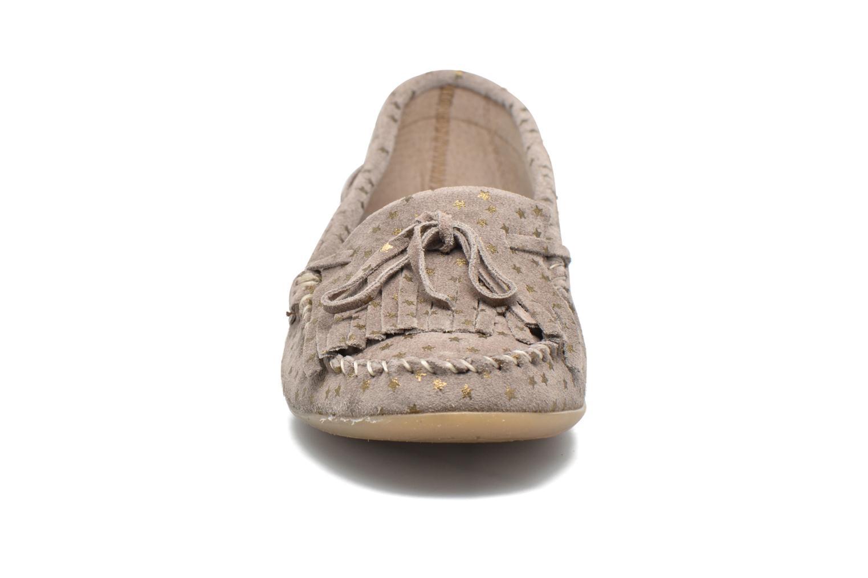 Mocassins Ippon Vintage Moc Star Beige vue portées chaussures