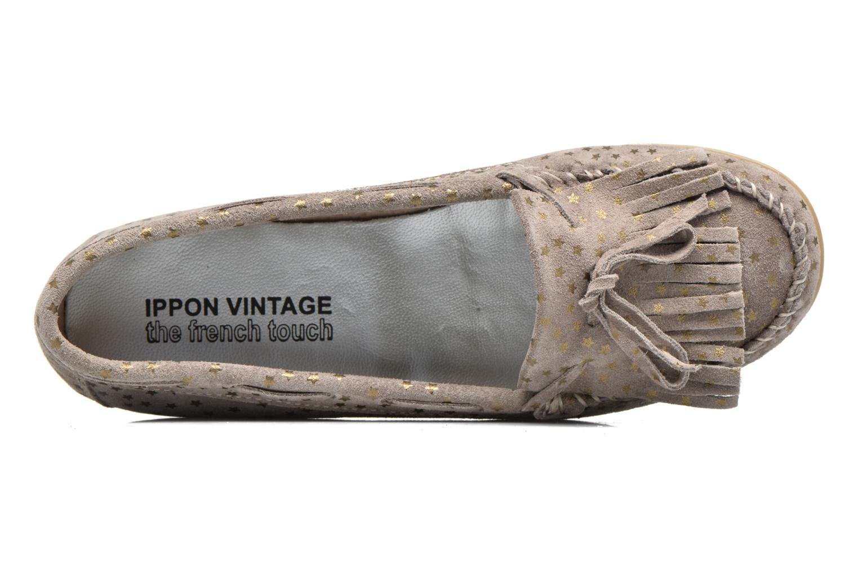 Mocassins Ippon Vintage Moc Star Beige vue gauche