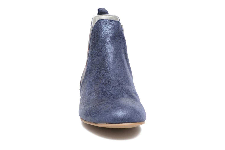 Bottines et boots Ippon Vintage Sun Magic Bleu vue portées chaussures