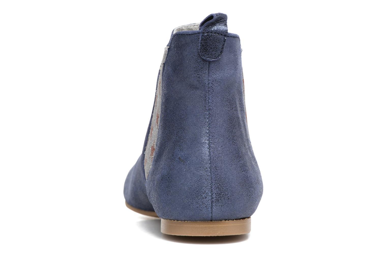 Bottines et boots Ippon Vintage Sun Magic Bleu vue droite