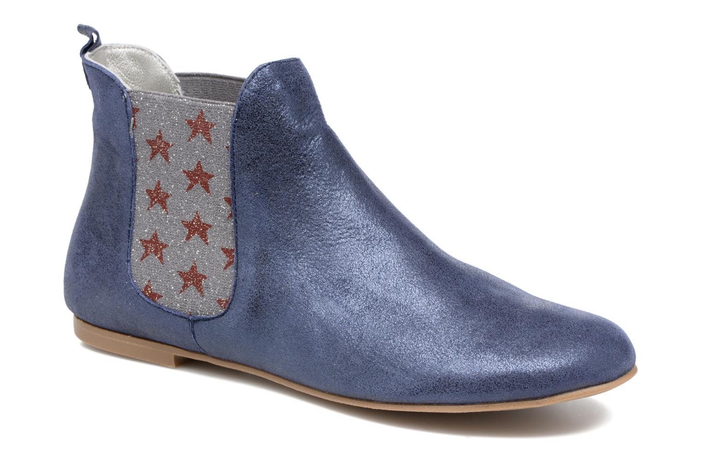 Bottines et boots Ippon Vintage Sun Magic Bleu vue détail/paire