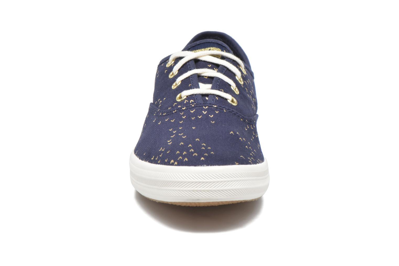Baskets Keds Champion Mini Bird Bleu vue portées chaussures