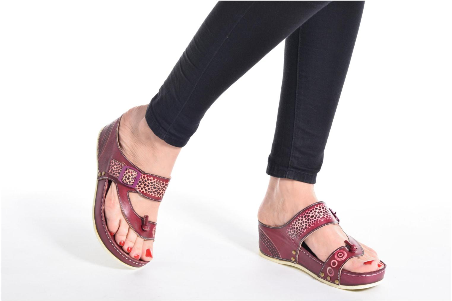 Mules & clogs Laura Vita Scenic Brown view from underneath / model view