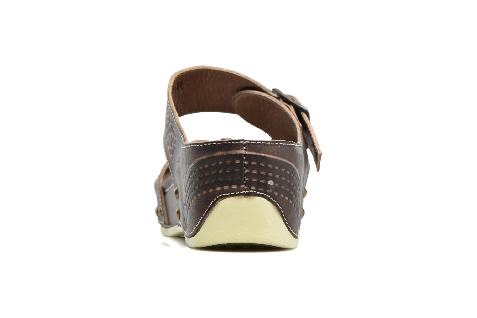 Mules & clogs Laura Vita Scenic Brown view from the right