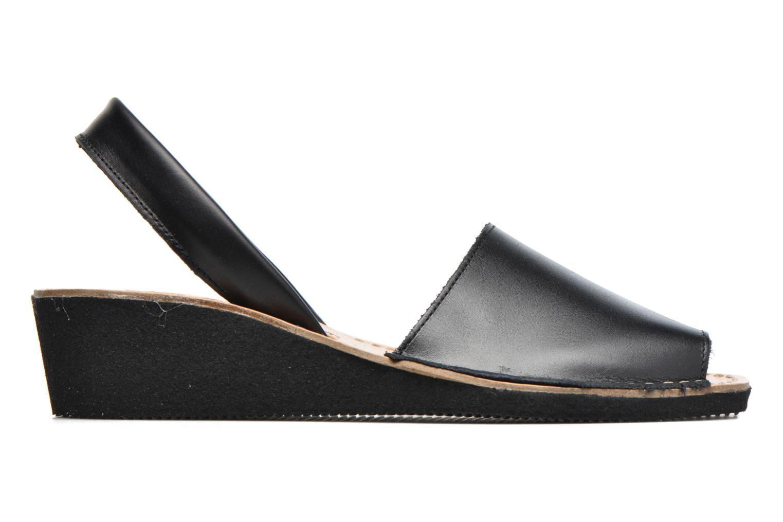 Sandales et nu-pieds Laura Vita Soft Noir vue derrière