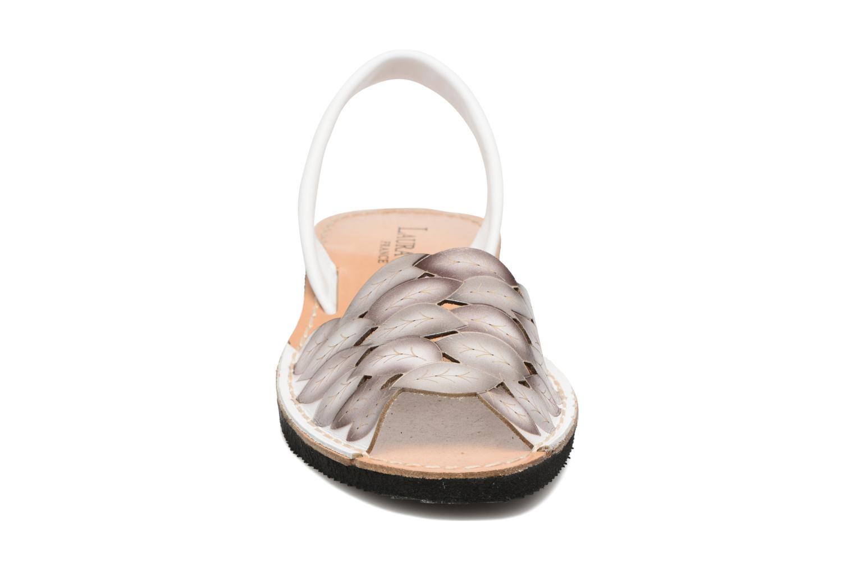 Sandales et nu-pieds Laura Vita Sonia Blanc vue portées chaussures