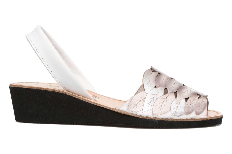 Sandales et nu-pieds Laura Vita Sonia Blanc vue derrière
