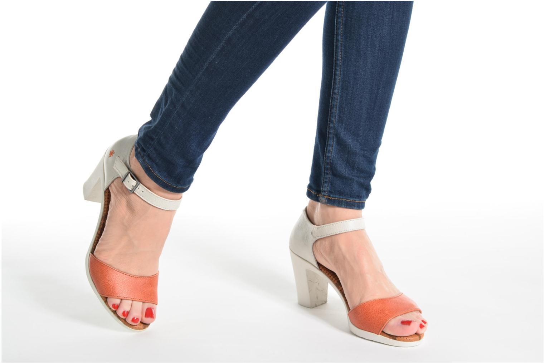 Sandales et nu-pieds Art Rio 276 Marron vue bas / vue portée sac