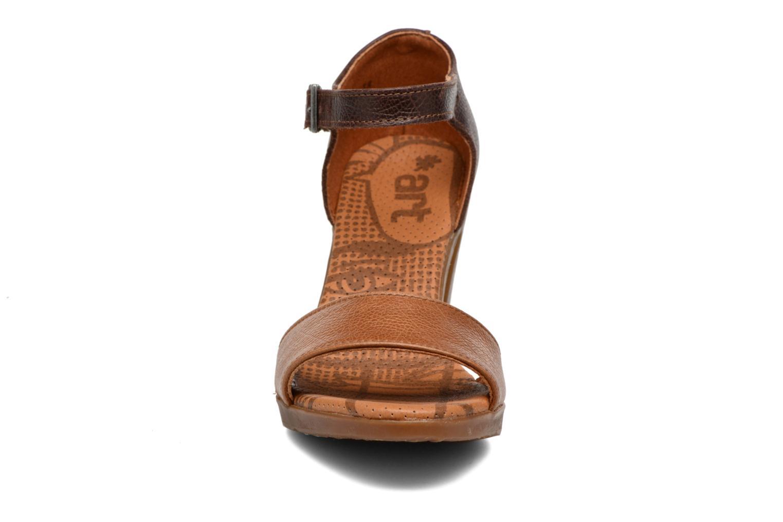 Sandales et nu-pieds Art Rio 276 Marron vue portées chaussures