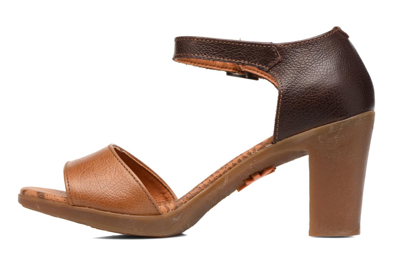 Sandales et nu-pieds Art Rio 276 Marron vue face