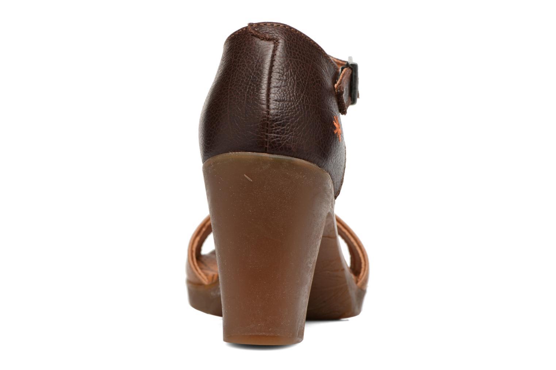 Sandales et nu-pieds Art Rio 276 Marron vue droite