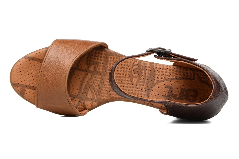 Sandales et nu-pieds Art Rio 276 Marron vue gauche