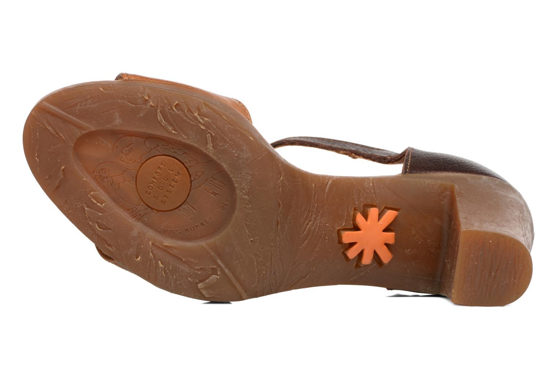 Sandales et nu-pieds Art Rio 276 Marron vue haut