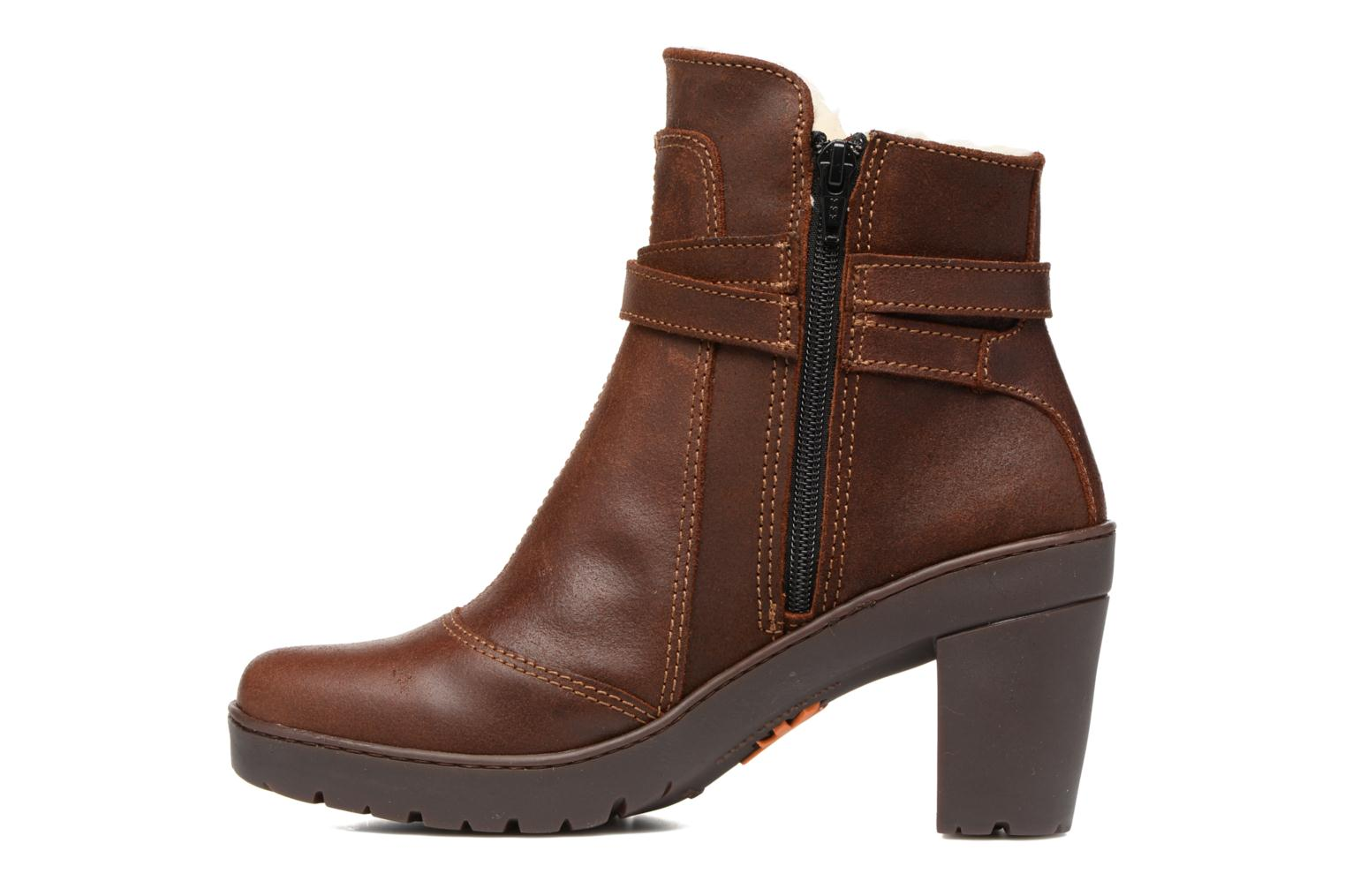 Bottines et boots Art Travel 399 Marron vue face