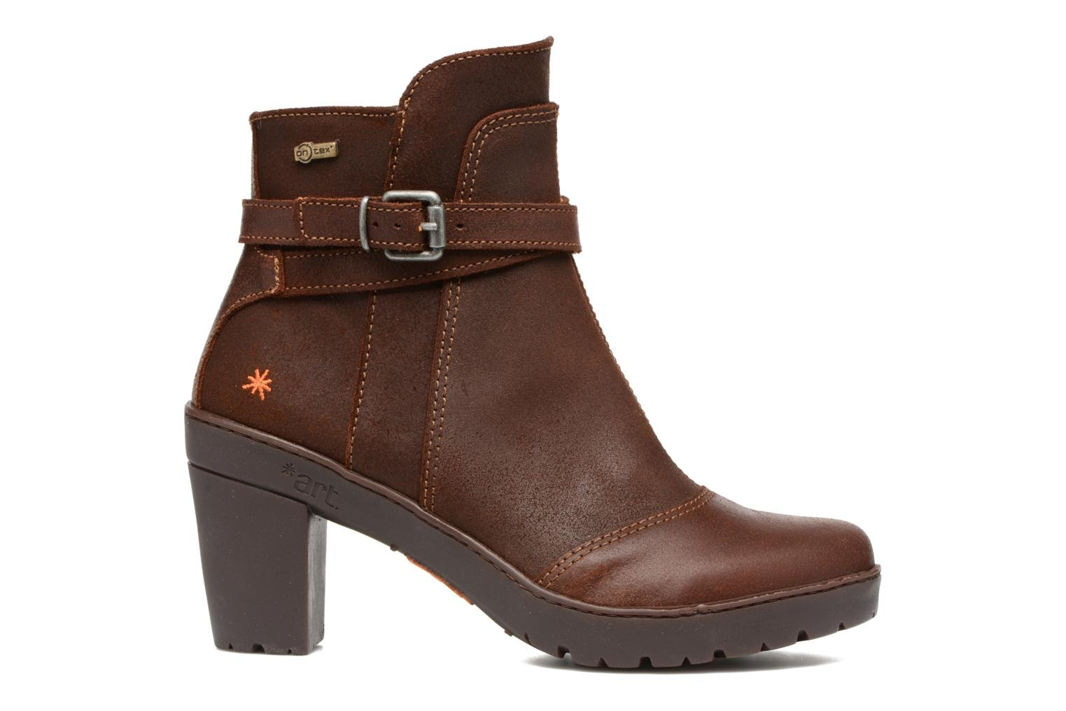 Bottines et boots Art Travel 399 Marron vue derrière