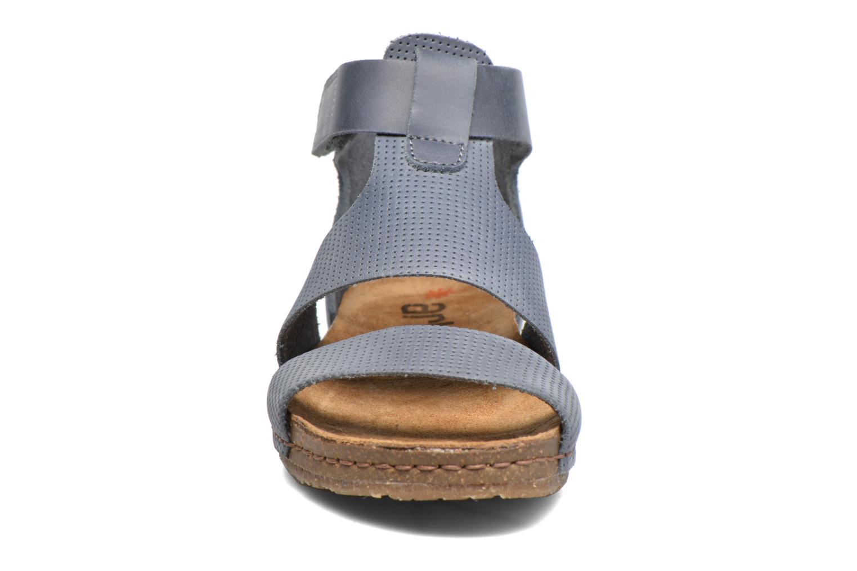 Sandales et nu-pieds Art Creta 472 Bleu vue portées chaussures