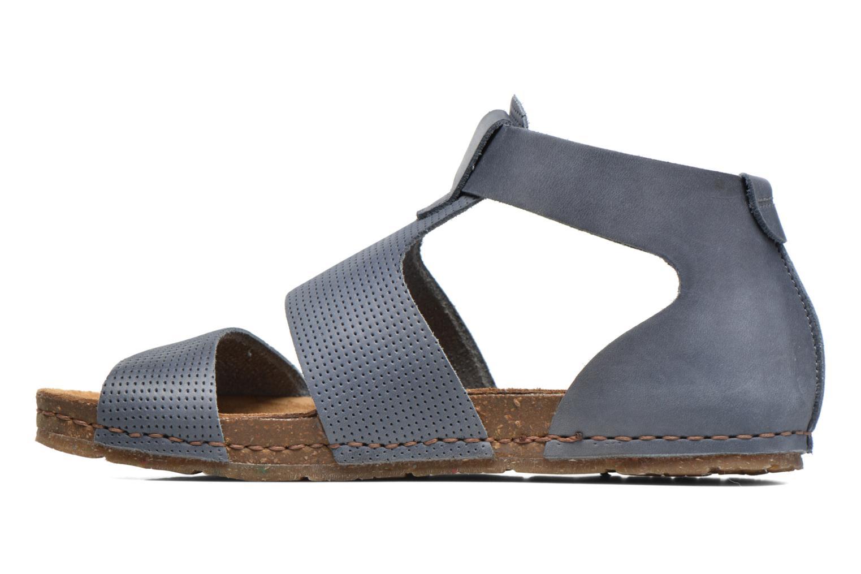 Sandales et nu-pieds Art Creta 472 Bleu vue face