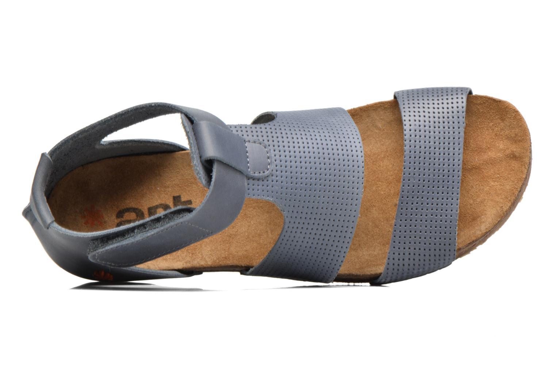 Sandales et nu-pieds Art Creta 472 Bleu vue gauche