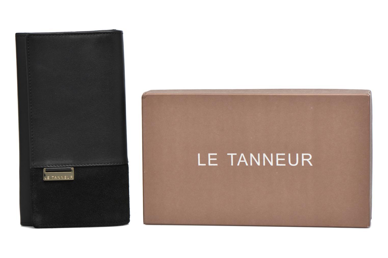 Petite Maroquinerie Le Tanneur Porte monnaie Mila long Noir vue détail/paire