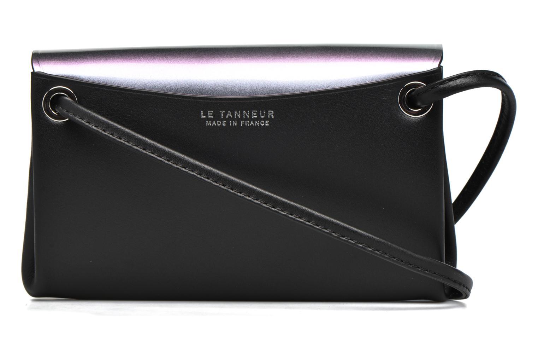 Sacs pochettes Le Tanneur Pochette Bandoulière amovible sans couture Noir vue face