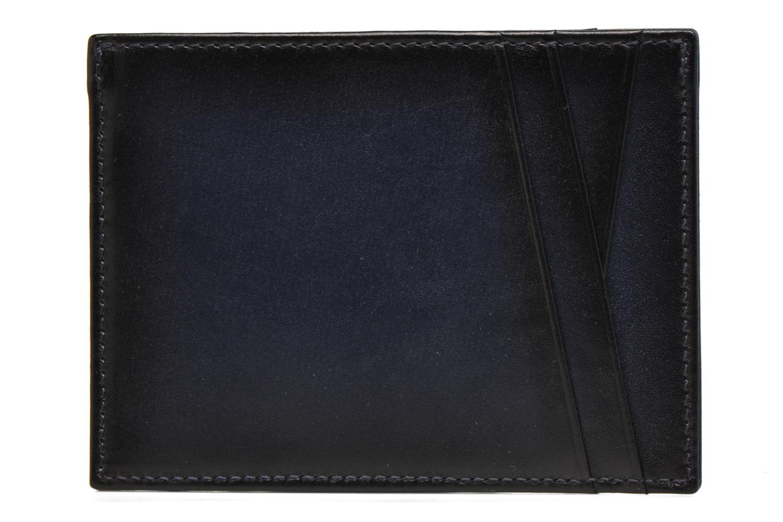 Pelletteria Le Tanneur Porte papiers Corentin 4 poches 5cc anti RFID Azzurro immagine destra