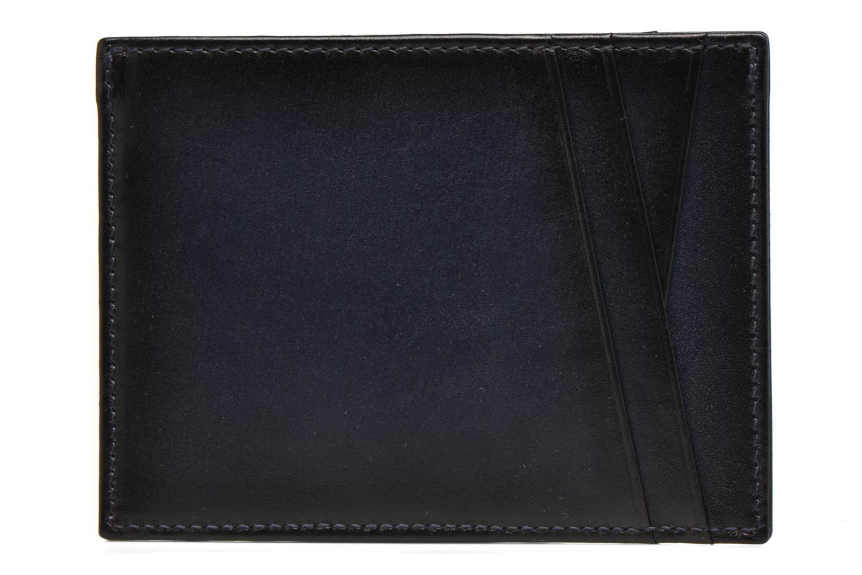 Petite Maroquinerie Le Tanneur Porte papiers Corentin 4 poches 5cc anti RFID Bleu vue droite