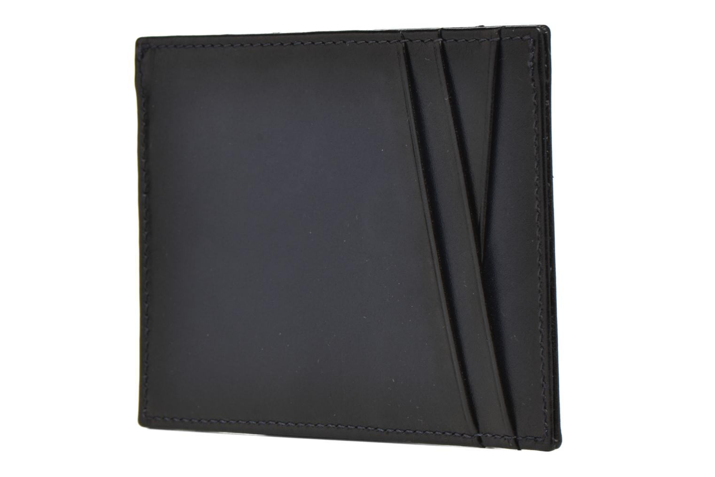 Pelletteria Le Tanneur Porte papiers Corentin 4 poches 5cc anti RFID Azzurro immagine sinistra