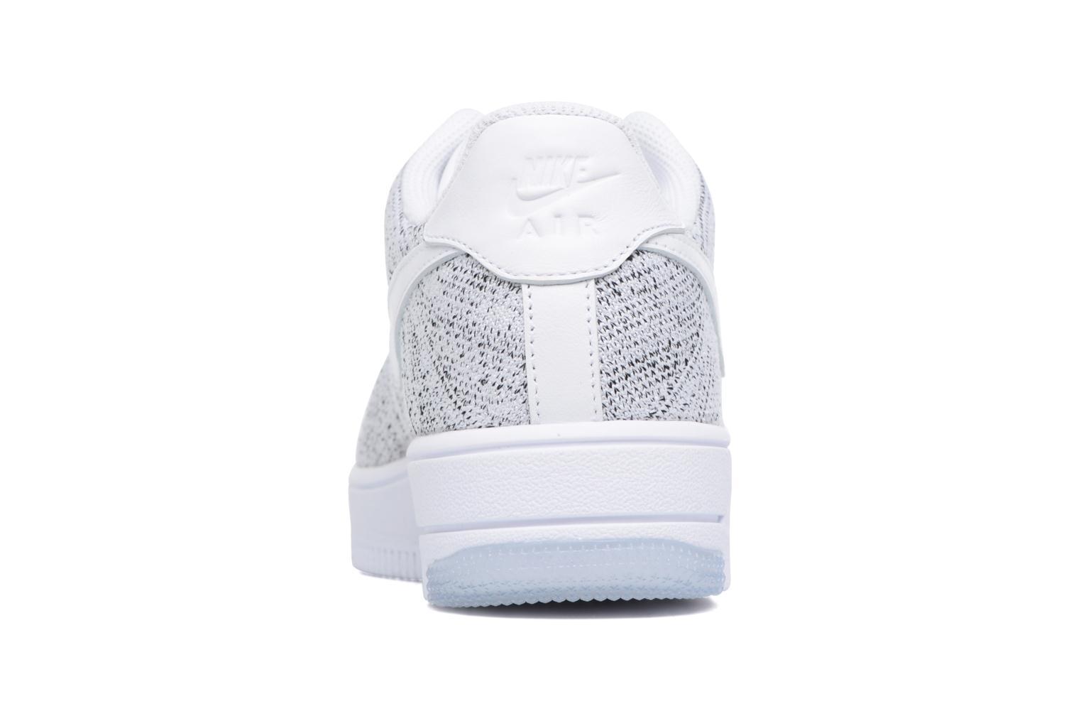 Baskets Nike W Af1 Flyknit Low Blanc vue droite