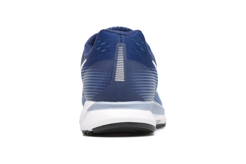 Chaussures de sport Nike Wmns Nike Air Zoom Pegasus 34 Bleu vue droite