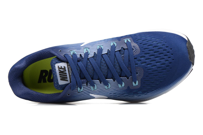 Chaussures de sport Nike Wmns Nike Air Zoom Pegasus 34 Bleu vue gauche