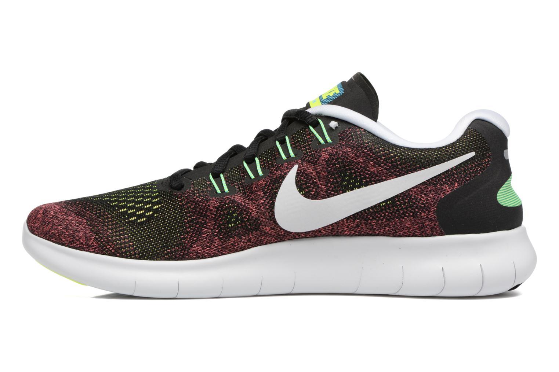Sportssko Nike Nike Free Rn 2017 Rød se forfra