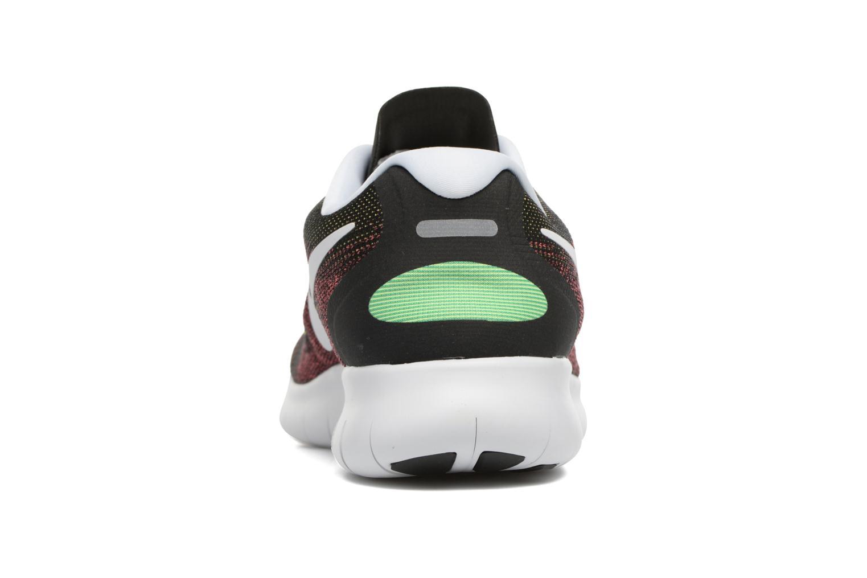 Sportssko Nike Nike Free Rn 2017 Rød Se fra højre