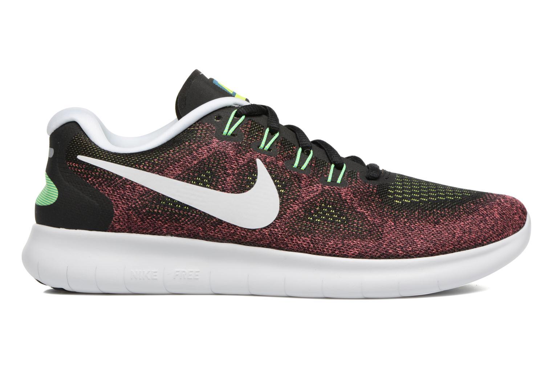 Sportschoenen Nike Nike Free Rn 2017 Rood achterkant