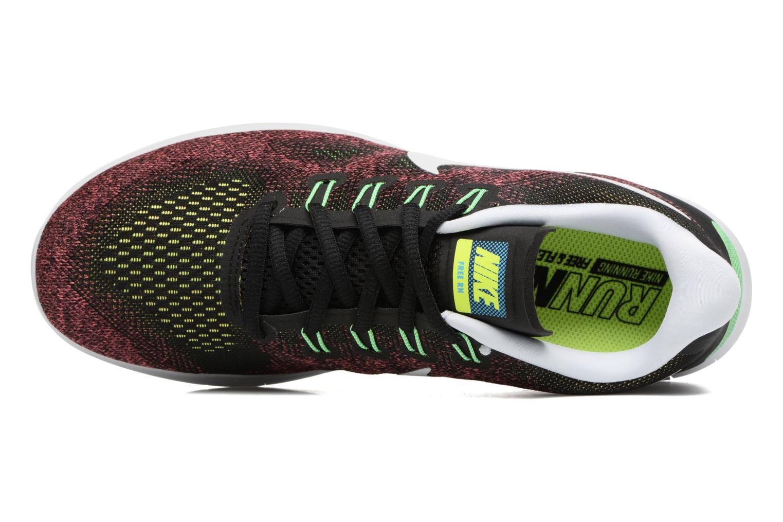 Chaussures de sport Nike Nike Free Rn 2017 Rouge vue gauche