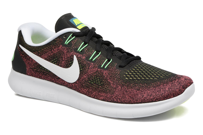 Chaussures de sport Nike Nike Free Rn 2017 Rouge vue détail/paire