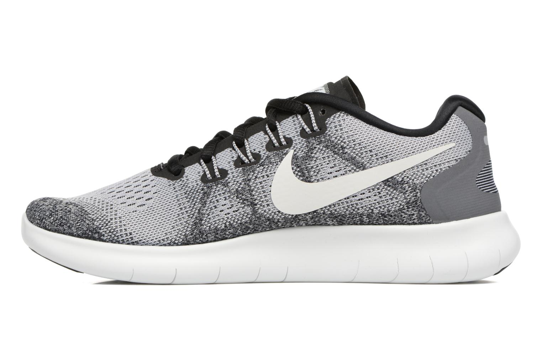 Chaussures de sport Nike Wmns Nike Free Rn 2017 Gris vue face