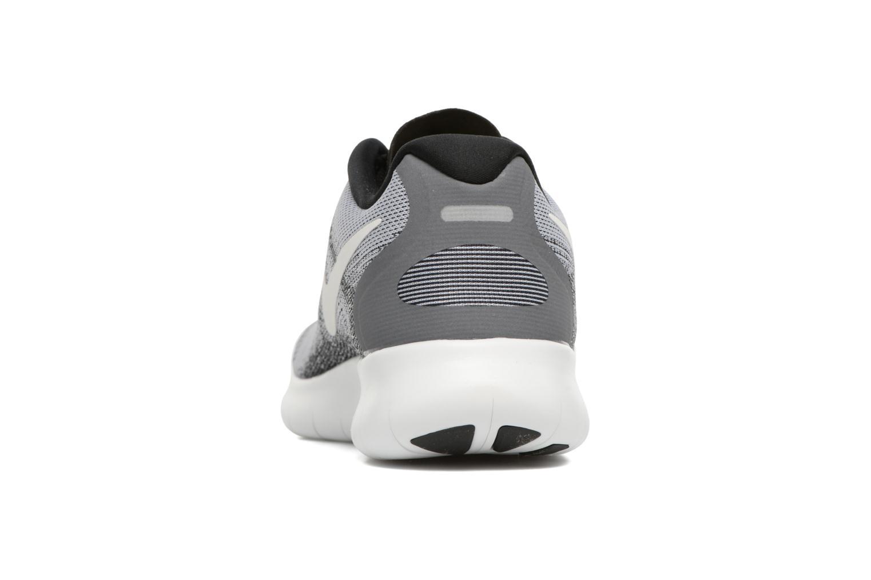 Wmns Nike Free Rn 2017 WOLF GREY/OFF WHITE-PURE PLATINUM-BLACK