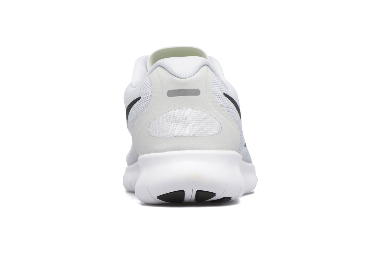 Chaussures de sport Nike Wmns Nike Free Rn 2017 Blanc vue droite