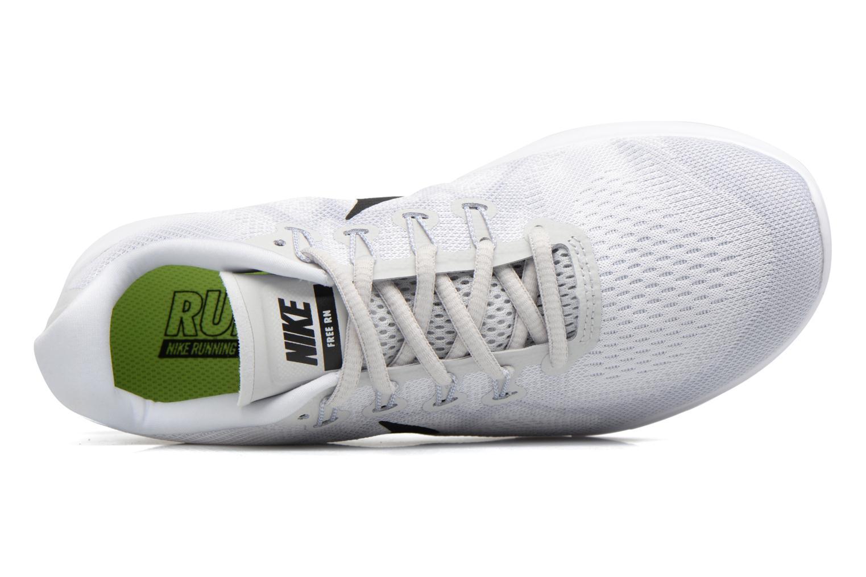 Chaussures de sport Nike Wmns Nike Free Rn 2017 Blanc vue gauche