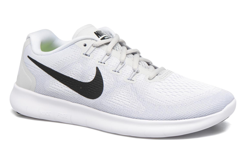 Chaussures de sport Nike Wmns Nike Free Rn 2017 Blanc vue détail/paire