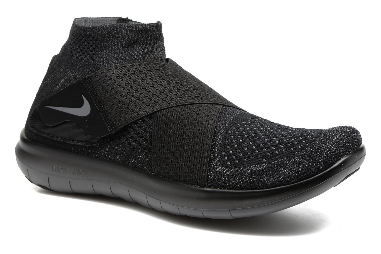 Nike Free Rn Motion Fk 2017 Black/Dark Grey-Anthracite-Volt