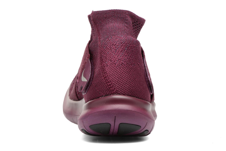 Zapatillas de deporte Nike W Nike Free Rn Motion Fk 2017 Violeta      vista lateral derecha