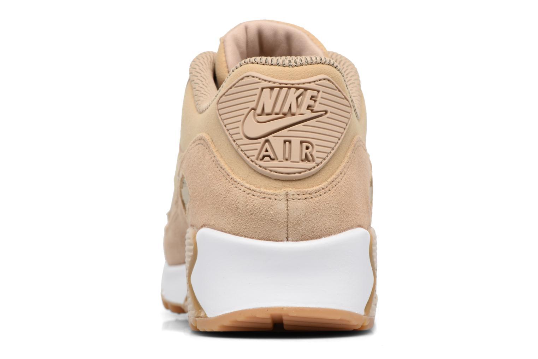 Baskets Nike Wmns Air Max 90 Se Beige vue droite